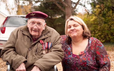 Mitch & Anne at Holywell Nursing Home
